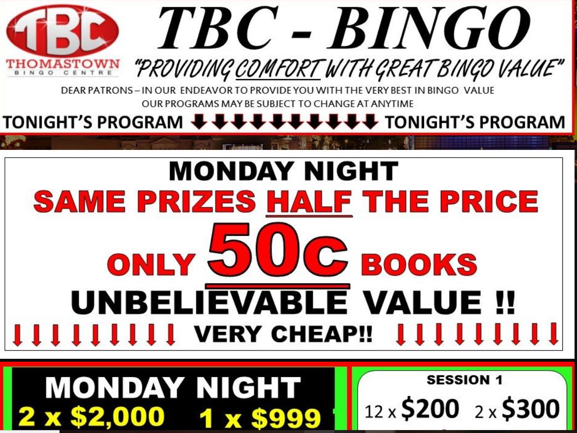Thomas Town Bingo
