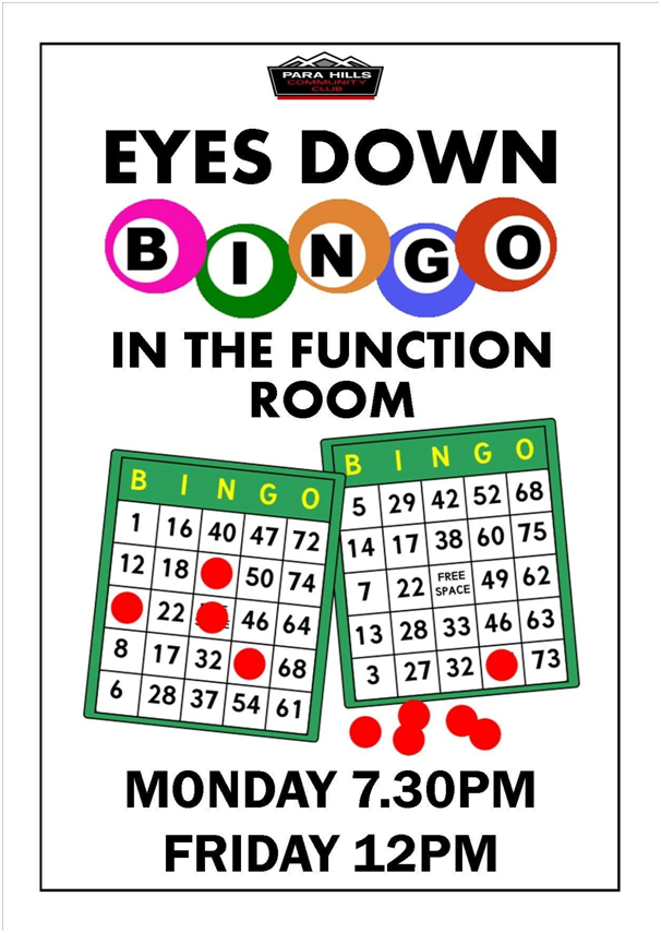 Eyes Down Bingo