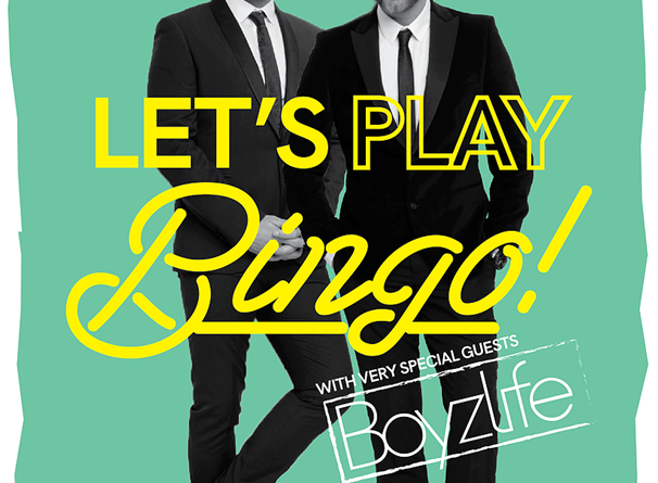 Boyzlife Bingo in Sydney