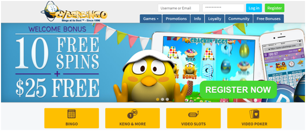 Five Best Bingo sites- Cyber Bingo