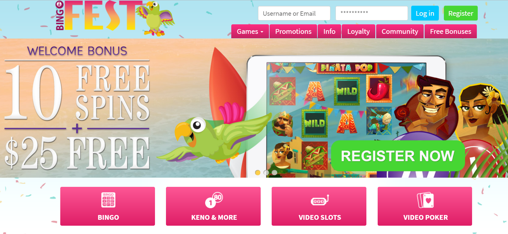 play bingo free online without downloading