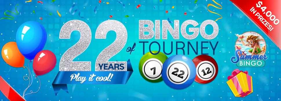 Bingo tourneys