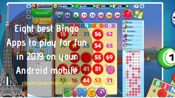 Eight best Bingo Apps to play for fun in 2019 on your Android mobile