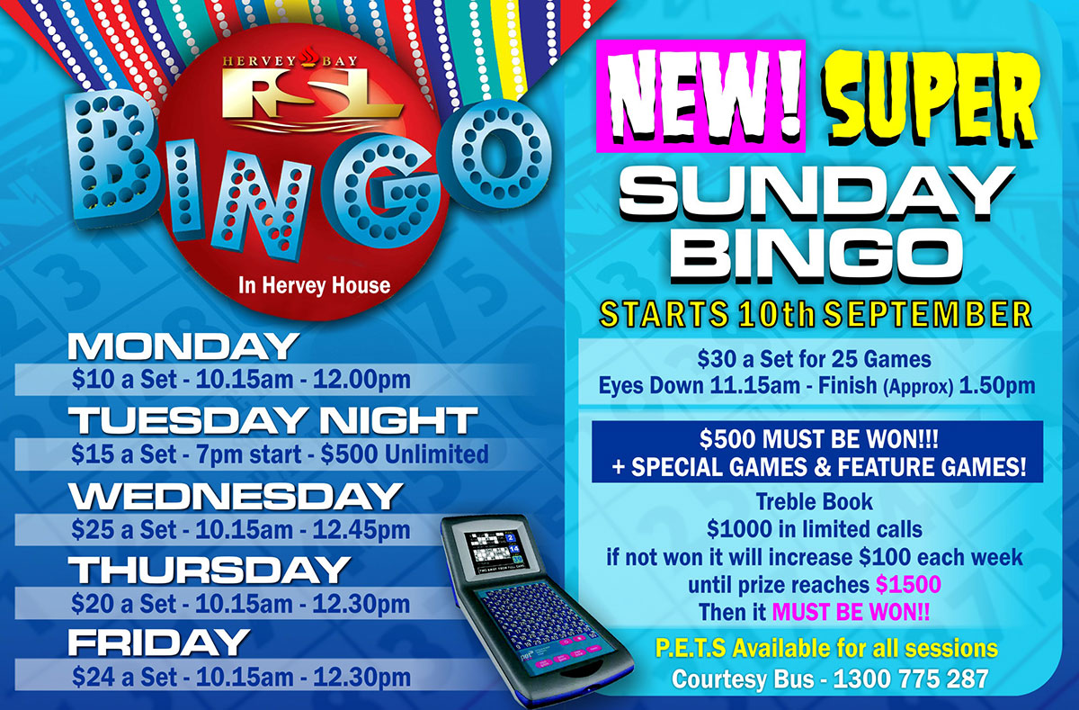 Hervey Bay Bingo