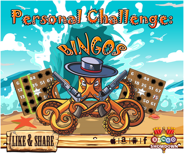 Bingo showdown game features