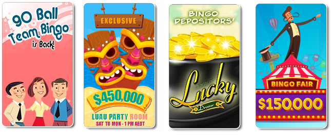 Bingo games to play at Bingo Australia