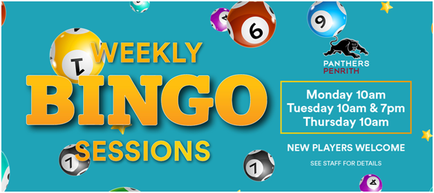 Standard Bingo games to play at Penrith Panthers club Australia
