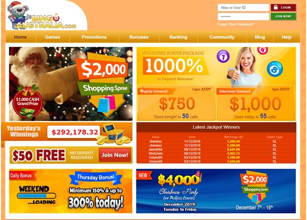 $50 No Deposit Bonus At Bingo Australia