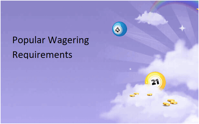 Popular Wagering Requirements