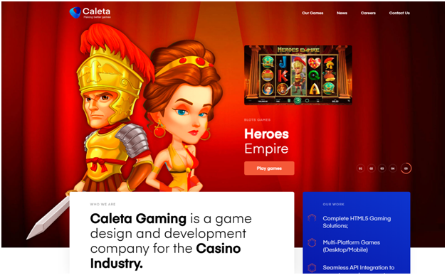 The new Bingo games from Caleta Gaming at online casinos