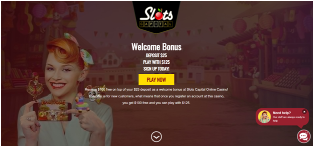 How to play bingo at Slots Capital casino?