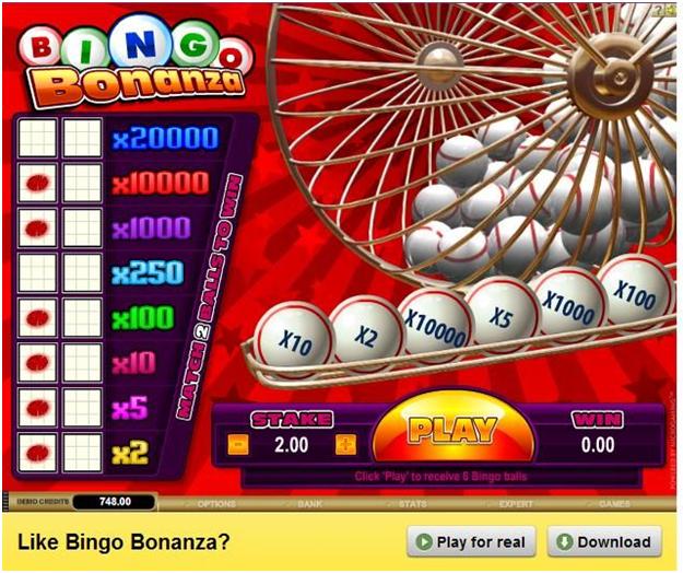 Are there are bonus features in Bingo Bonanza