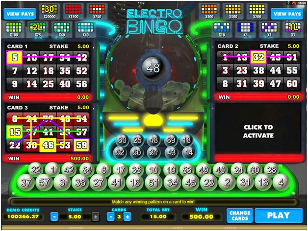 Electro Bingo BTC